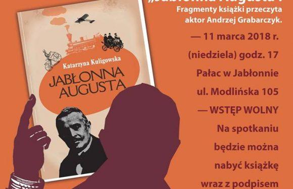 Jabłonna Augusta – promocja książki