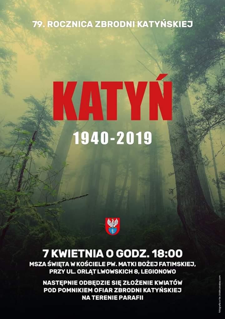 79 Rocznica Zbrodni Katyńskiej Towarzystwo Przyjaciół