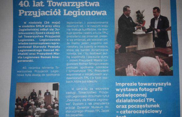 Jubileusz TPL w prasie lokalnej