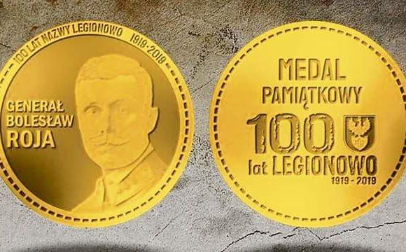 Medal dla Towarzystwa Przyjaciół Legionowa